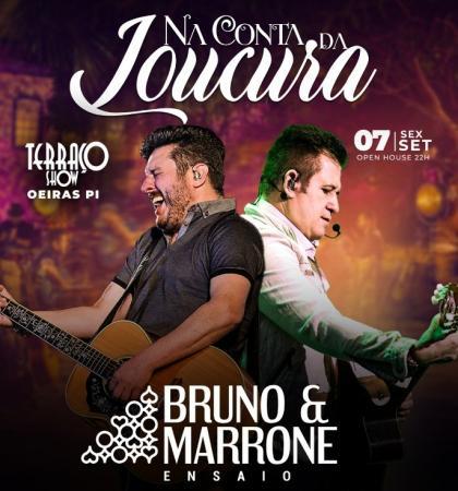 Bruno e Marrone dia 07 de setembro em Oeiras