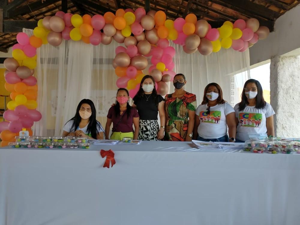 Entrega de cadernos encerram as atividades do SCFV 2020 em Santa Rosa