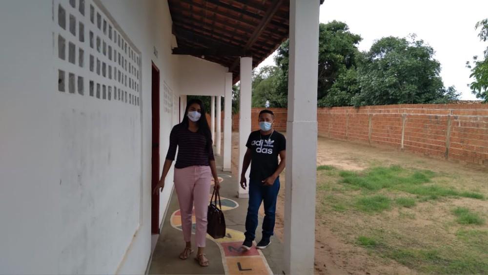 Secretária de Educação realiza visitas em escolas municipais em Santa Rosa