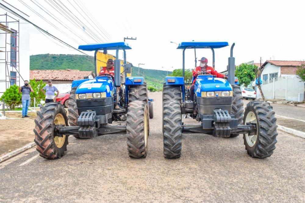 Prefeitura apoia agricultura familiar e produção agrícola em Santa Rosa do Piauí