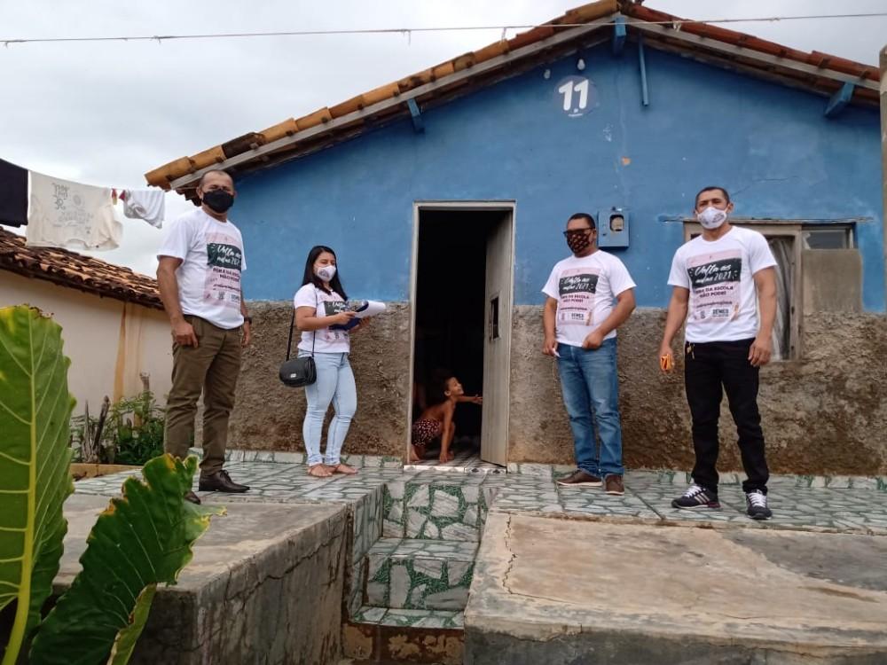 Programa Busca Ativa Escolar continua intensificando suas ações no município