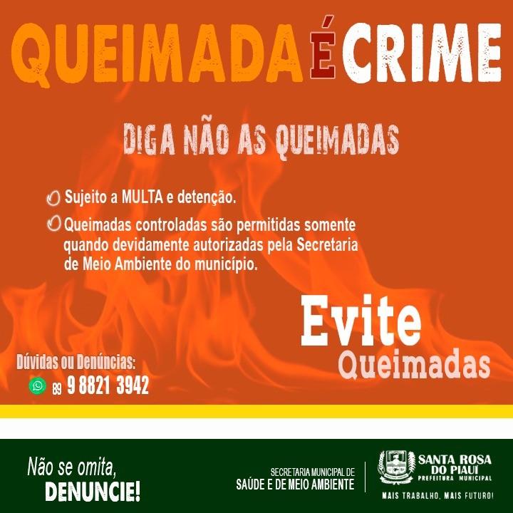 Você sabia que ao queimar o lixo doméstico você está cometendo um crime?