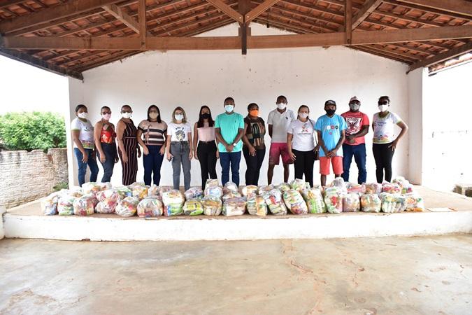 Prefeitura de Santa Rosa realiza entrega de Cestas Básicas no povoado Santana