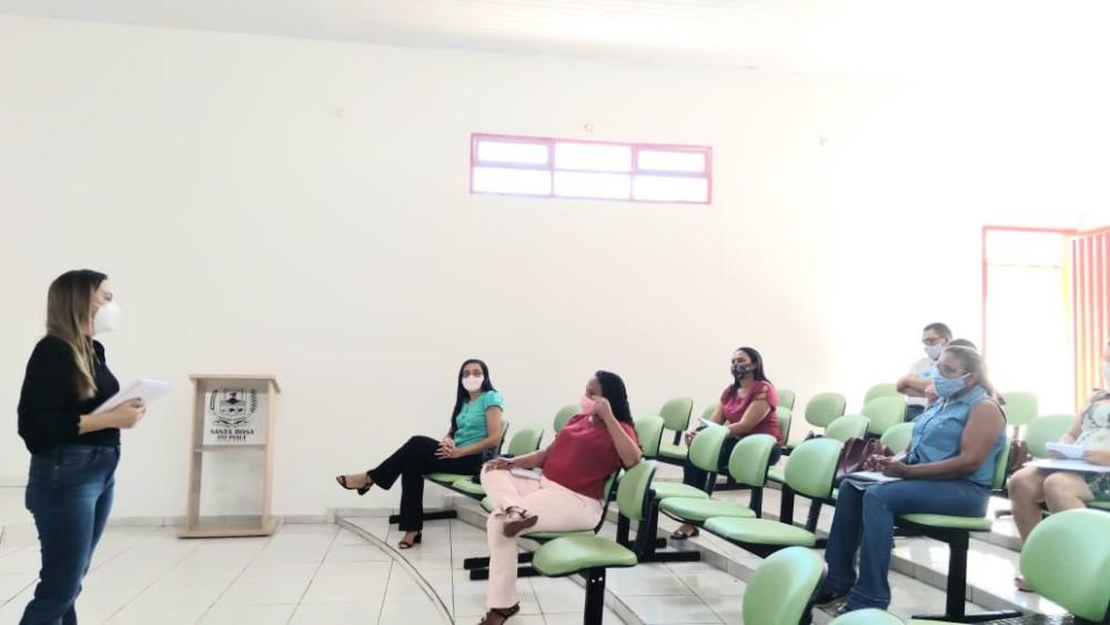 Secretaria de Educação realiza formação para gestores em Santa Rosa