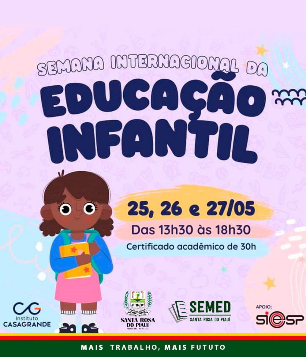 SEMED investe na formação dos docentes em Santa Rosa do Piauí