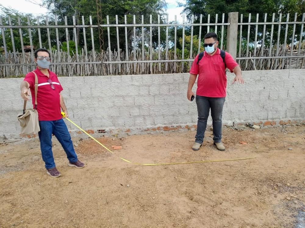 Escola José Mariano recebe visita técnica para receber kits agroecológicos através do Projeto Viva Semiárido