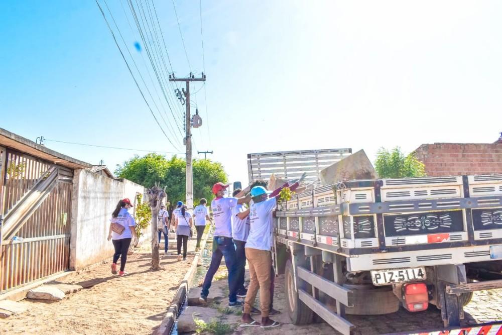 Prefeitura realiza mutirão contra a Dengue em Santa Rosa do Piauí