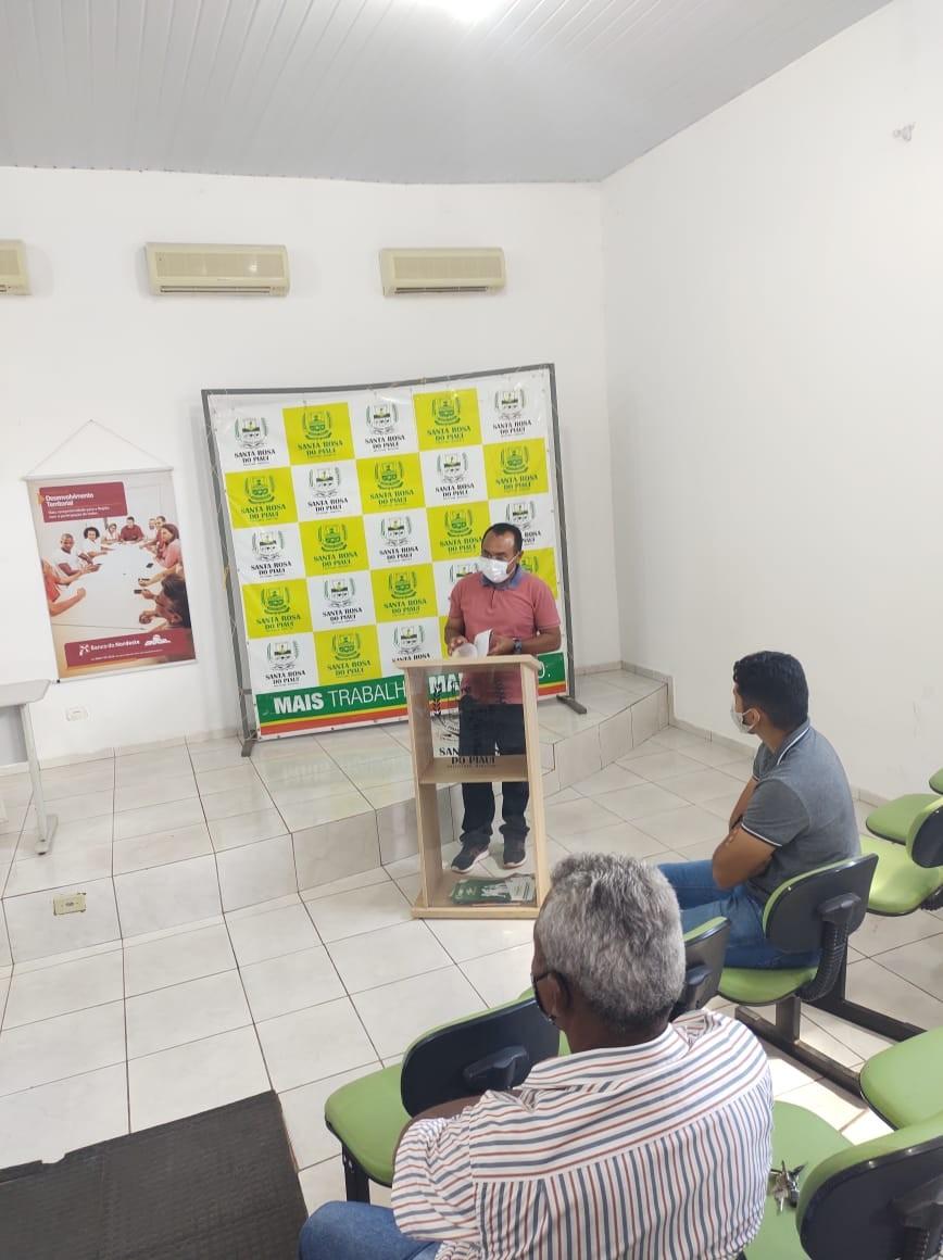 Reunião para criação do Comitê gestor de Desenvolvimento foi realizado em Santa Rosa