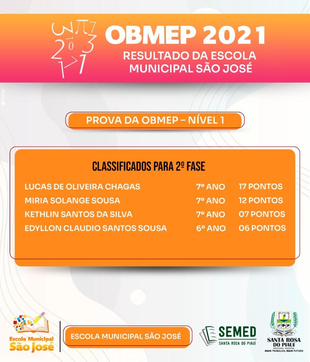Secretaria de Educação divulga lista dos alunos aprovados para 2ª fase na OBMEP em Santa Rosa