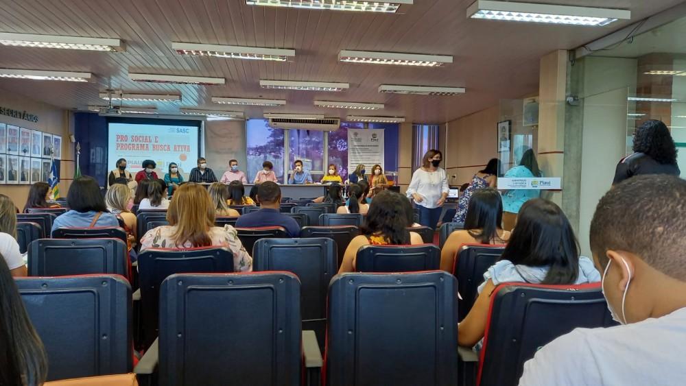 Secretária de Assistência Social participa de capacitação do Programa Busca Ativa/ PRO Social