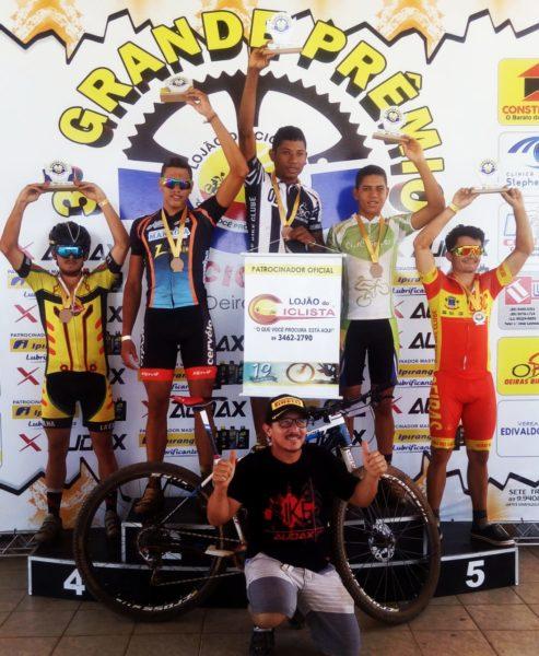 Atleta santa-rosense vence 3º grande prêmio do lojão do ciclista em Oeiras