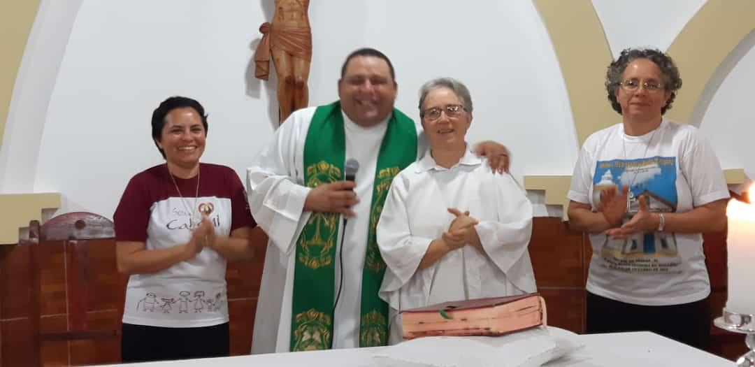 Igreja católica de Cajazeiras acolhe irmã Laudir