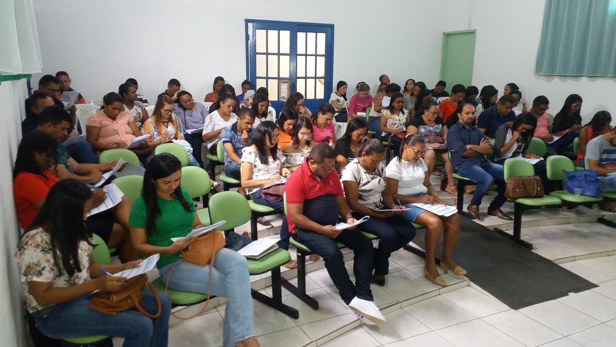 Secretaria de Educação realiza 1ª Avaliação Educacional para professores em Santa Rosa do Piauí