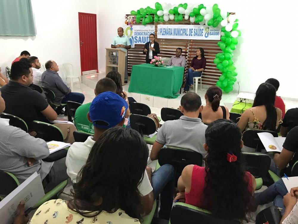 I Plenária Municipal de Saúde é realizada em Santa Rosa