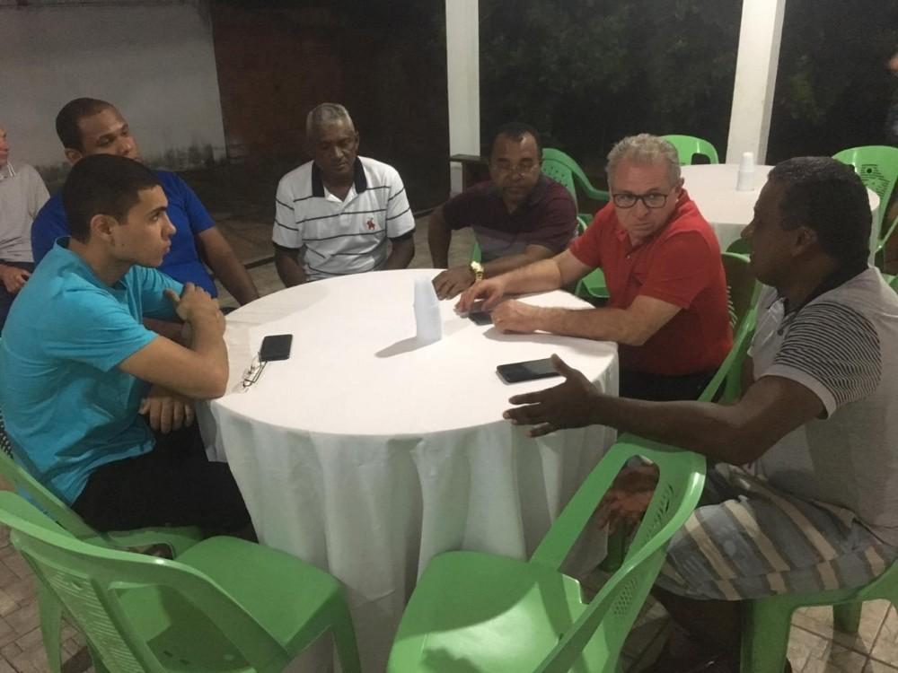 Prefeito Veríssimo recebe Deputado Assis Carvalho na semifinal em Santa Rosa