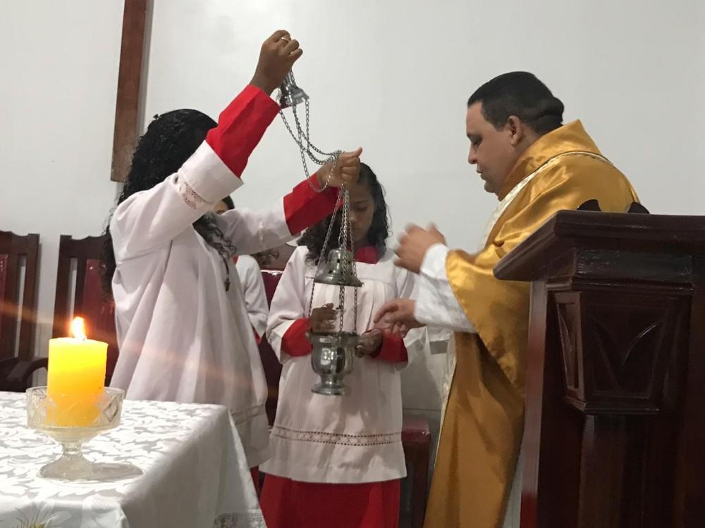 Missa marca início da comemoração do aniversário de Santa Rosa