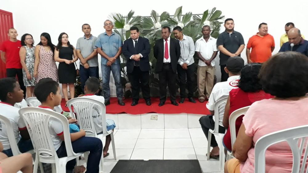 Ato cívico e inaugurações de obras aconteceram na manhã do segundo dia de comemoração do aniversário de Santa Rosa