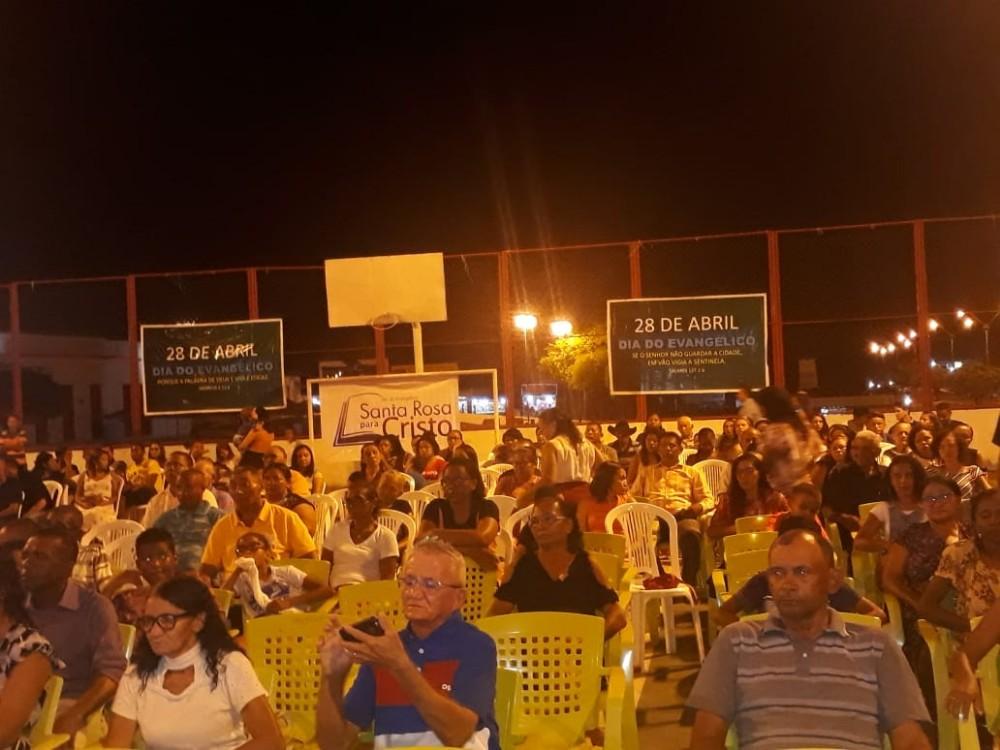 Dia do Evangélico encerra as comemorações do aniversário da cidade de Santa Rosa do Piauí