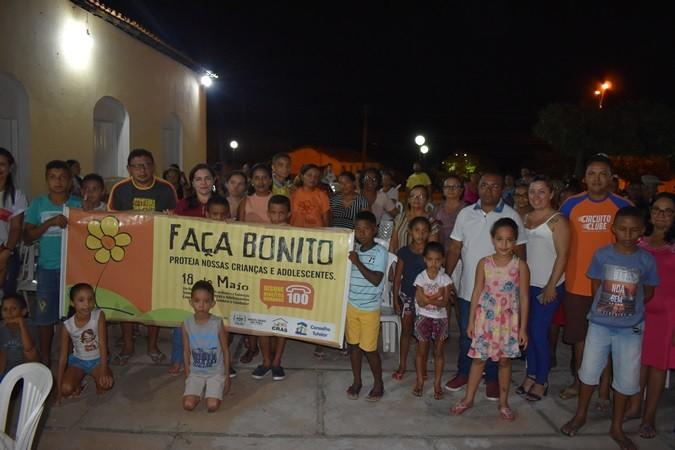 """Rodas de conversas sobre Campanha """"Faça Bonito"""" é realizado nos bairros de Santa Rosa"""