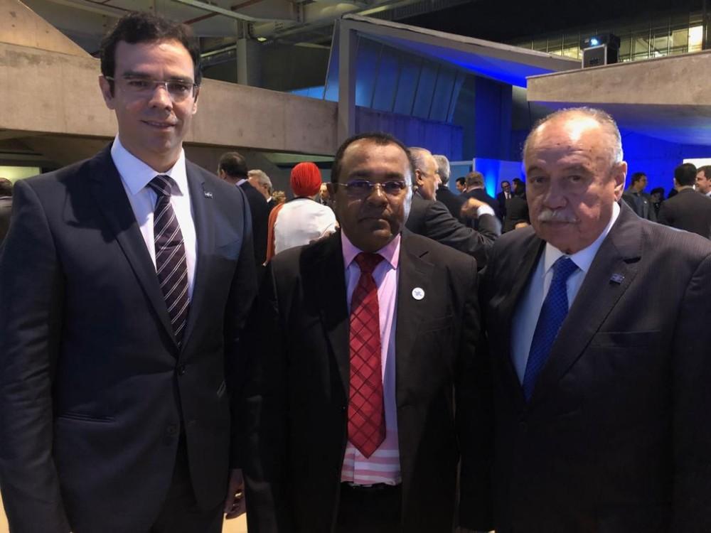 Prefeito de Santa Rosa do Piauí recebe mais um prêmio em Brasília