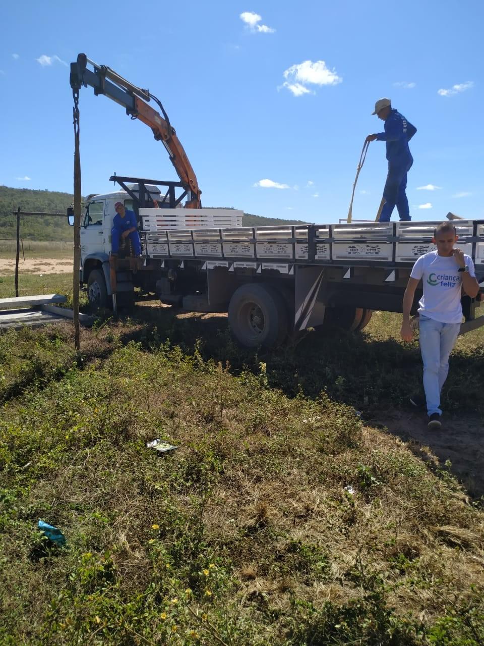 Prefeitura irá construir um campo de futebol no povoado Santana