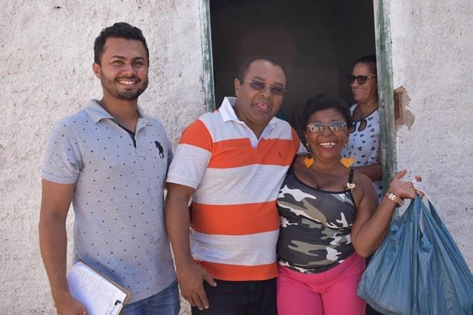 Prefeitura realiza entrega de alimentos do PAA para famílias em Santa Rosa do Piauí