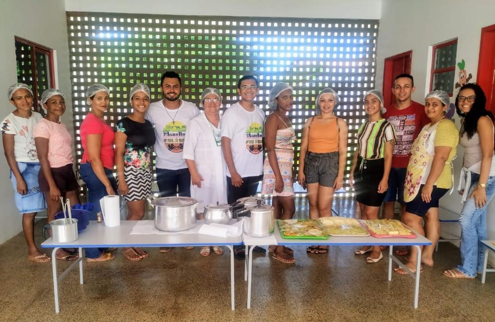 Oficina de culinária foi realizada durante a terceira edição da AgroRosa