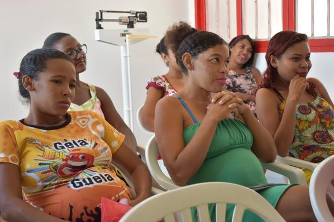 Prefeitura realiza encontro com grupo de gestantes no Povoado Santana