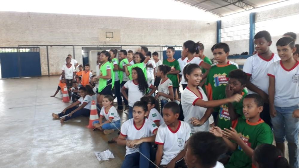 Alunos de Santa Rosa participam de aulas preparatórias para prova Saeb no município
