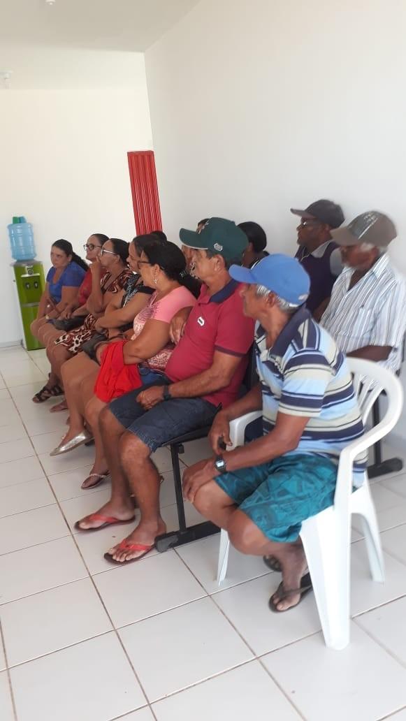 Pacientes do Povoado Santana foram beneficiados com próteses dentárias