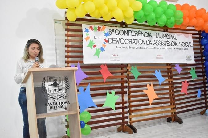 Santa Rosa realiza a 8ª Conferência Municipal de Assistência Social