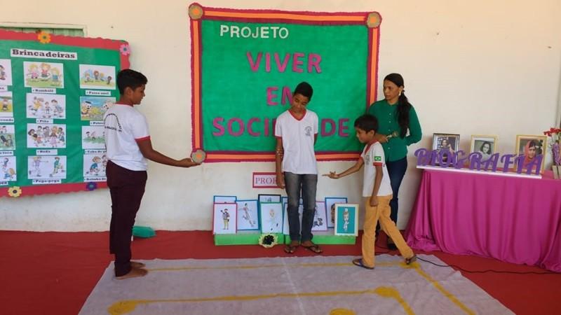 Projeto Viver em Sociedade foi realizado nas turmas do 5º ano das escolas de Santa Rosa