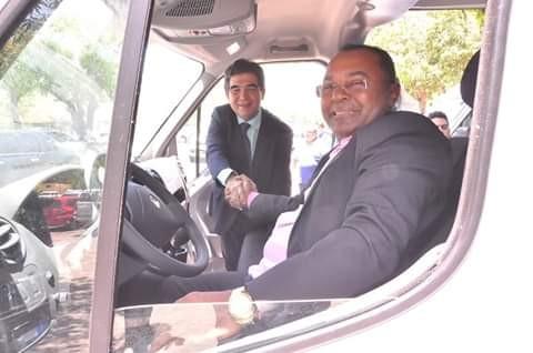 Município de Santa Rosa é contemplado com uma Van para a Saúde