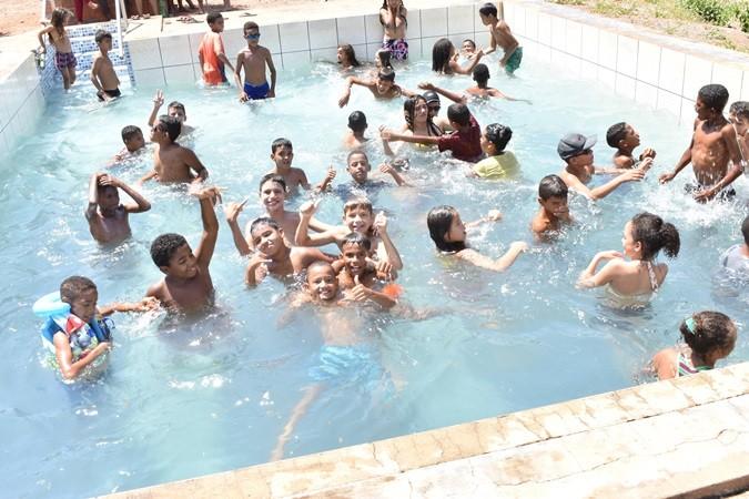 Educação comemora o Dia das Crianças em todas as escolas municipais de Santa Rosa do Piauí