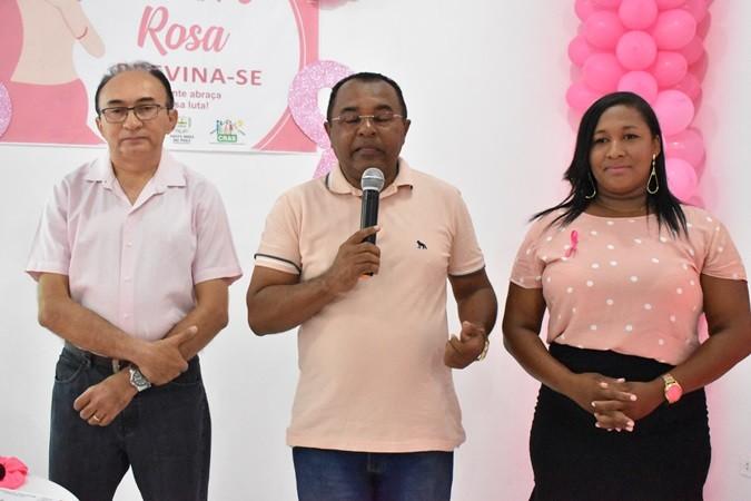 Secretaria da Saúde realiza atividades em alusão ao Outubro Rosa em Santa Rosa