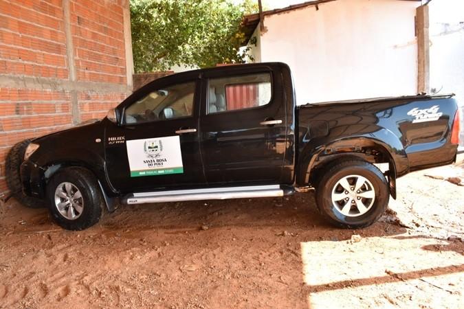Prefeitura realizará leilão de veículo Hilux em Santa Rosa do Piauí