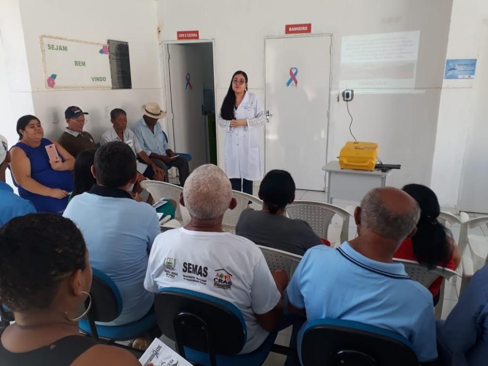 Prefeitura de Santa Rosa realiza ação do Novembro Azul lembrando a importância da prevenção ao câncer de próstata