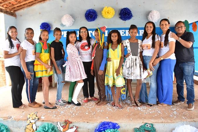Projetos são apresentados na Escola São José do Povoado Santana em Santa Rosa