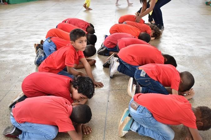 """Escola Núcleo da Alegria promove Projeto """"Conhecendo o Girassol"""" em Santa Rosa"""