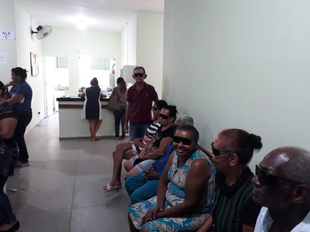Pacientes de Santa Rosa passam por cirurgias oftalmológicas