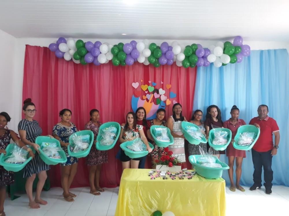 Gestantes de Santa Rosa do Piauí são contempladas com kit de enxoval para bebê
