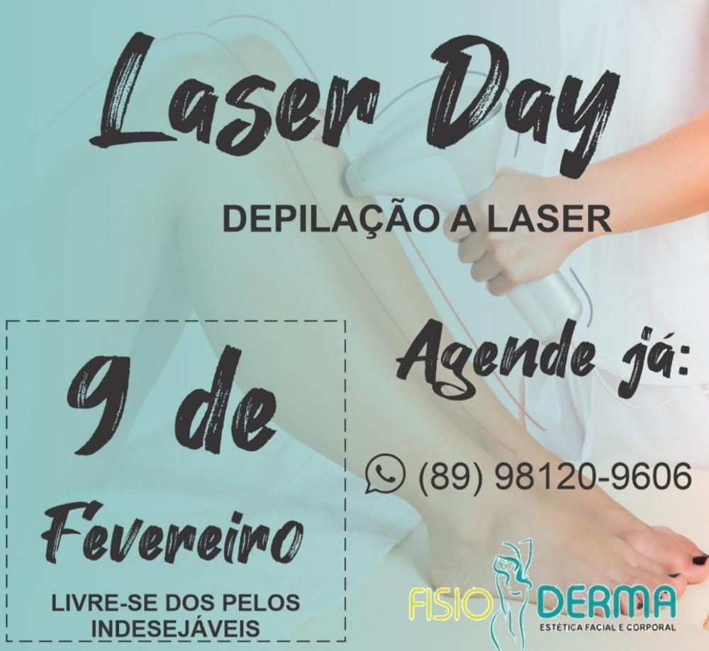A Fisio Derma: estética facial e corporal está com depilação a laser