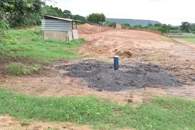 Construção do estádio municipal está em andamento em Santa Rosa do Piauí