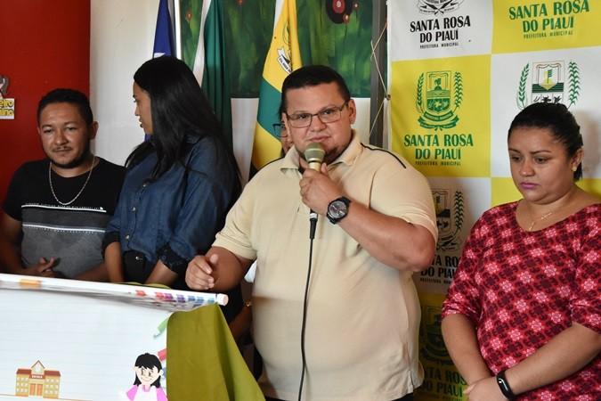 Após reforma, Escola Municipal Novo Horizonte é entregue à comunidade em Santa Rosa