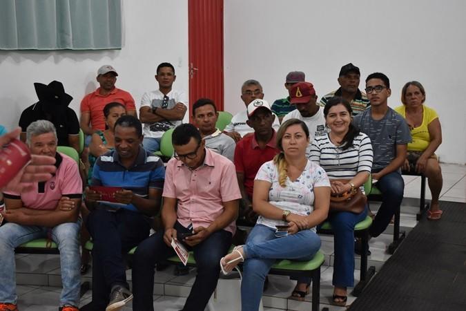 Secretaria de Agricultura realiza palestra para reafirmar parcerias e esclarecer dúvidas de agricultores