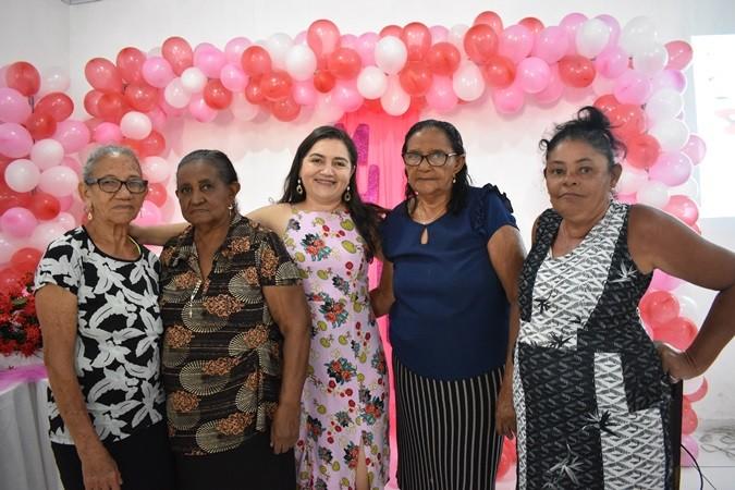Encontro em homenagem ao Dia Internacional da Mulher foi realizado em Santa Rosa do Piauí