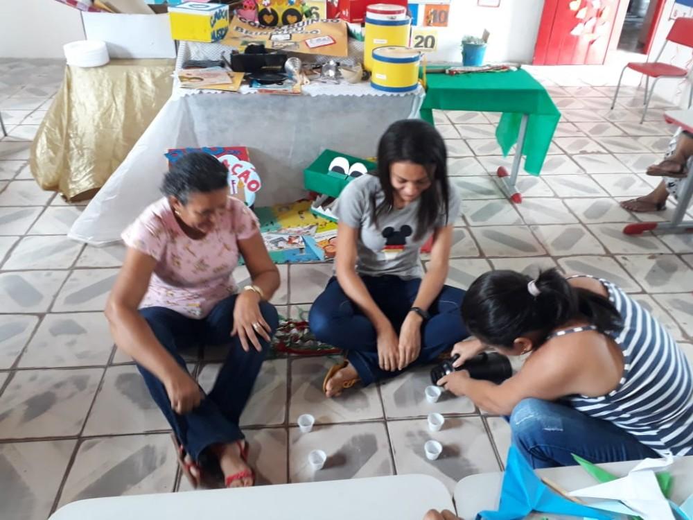 Professores da rede municipal Núcleo da Alegria e São José participam de oficina pedagógica