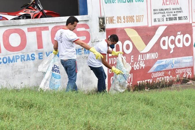 Prefeitura realiza mutirão contra a Dengue em Santa Rosa