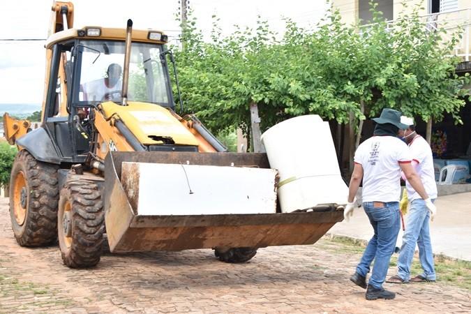 Mutirão em combate ao mosquito da dengue encerra hoje em Santa Rosa do Piauí