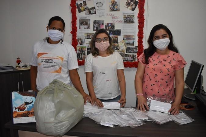 Distribuição de máscaras de tecido priorizando os grupos de risco será feita em Santa Rosa